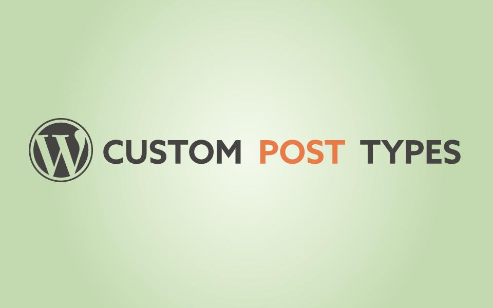 Add Post Types to WordPress